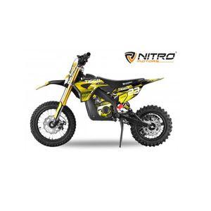 Lem Motor Jaune Motocross 50cc Pitbike A10