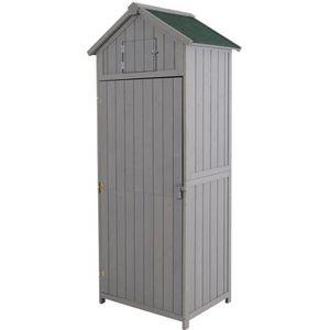 ABRI JARDIN - CHALET Armoire abri de jardin remise pour outils 3 étagèr