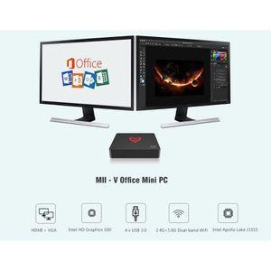UNITÉ CENTRALE  Mini PC 4GB+64GB-Intel Apollo Lake J3355/Intel HD