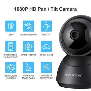 CAMÉRA IP Caméra IP WiFi Caméra de Surveillance-FLOUREON YI-