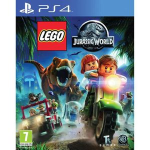 JEU PS4 Lego Jurassic World