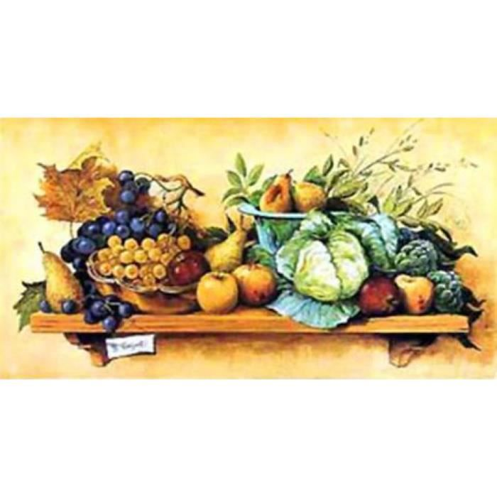 cuisine poster reproduction nature morte ii 50 x 100 cm