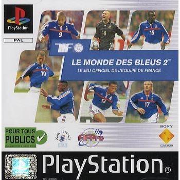 JEU PS1 LE MONDE DES BLEUS 2 / JEU CONSOLE PLAYSTATION