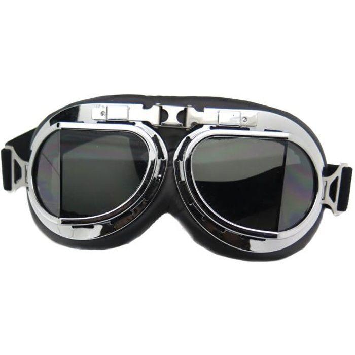 lunette moto aviateur vintage retro teinte side car