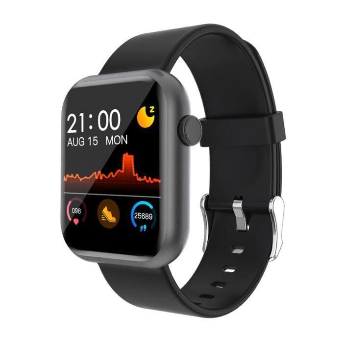 COLMI P9 montre intelligente hommes jeu intégré IP67 étanche Fitness tracker moniteur de fréquence cardiaque femme - Black - WL5818