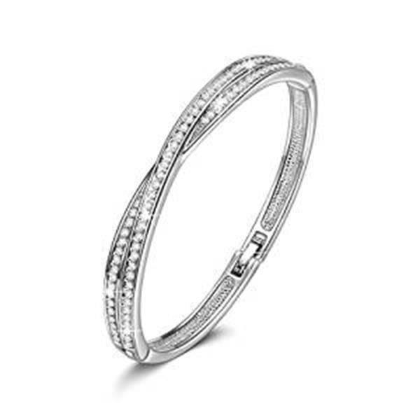 SHA Croix - Bracelet Femme - cristaux de Swarovski élément