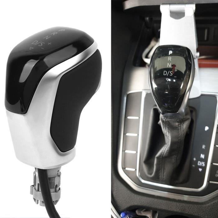 Pièces Auto,Pommeau de levier de vitesse électrique automatique LED avec fil pour voiture DSG, VW Passat B8 Golf Mk7, SEAT Leon Mk3