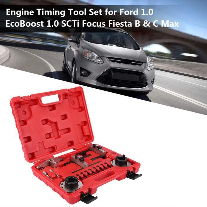 Ensemble d'outils de calage du moteur calage de l'arbre à cames pour Ford 1.0 EcoBoost 1.0 SCTi Focus Fiesta B & C Max -HB065