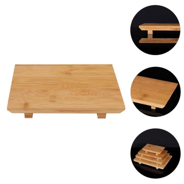 Plateau de Sushi Sashimi de style japonais Assiette de service exquise de service complet - service de table service de table