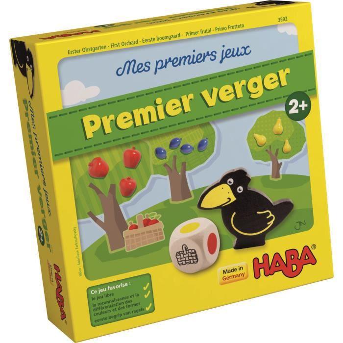 HABA - Mes Premiers Jeux - Mon premier verger - Version Française