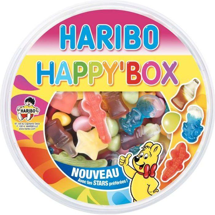Boîte de confiseries -Happy Box- 600 g Haribo