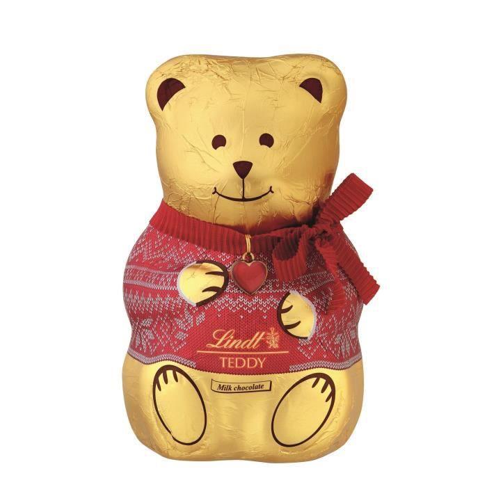 3x Lindt Teddy Noël Chocolat 200g