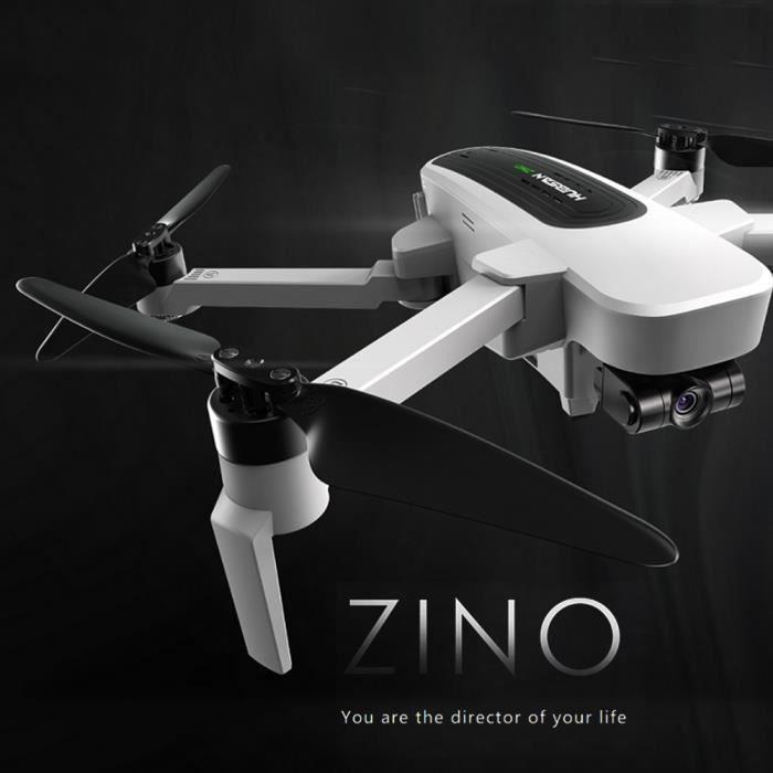Hubsan H117S Zino GPS Drone 1KM 5G Wifi FPV UHD 4K Caméra 3-Axis Cardan Photographie aérienne sans brosse Pliable RC Quadcopter