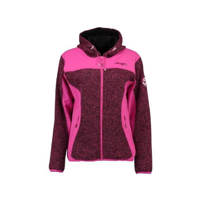 Polaire Femme Geographical Norway Tilleul Rose