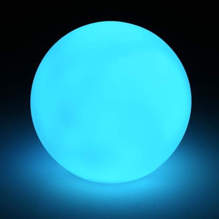 Boule LED Lumineuse 18cm Multicolore