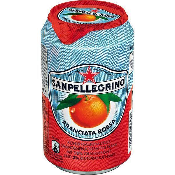 Sanpellegrino Aranciata Rossa 24 x 0,33l