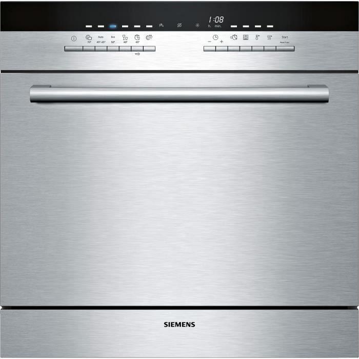 siemens - lave-vaisselle compact modulaire a+ encastrable inox - sc76m542eu