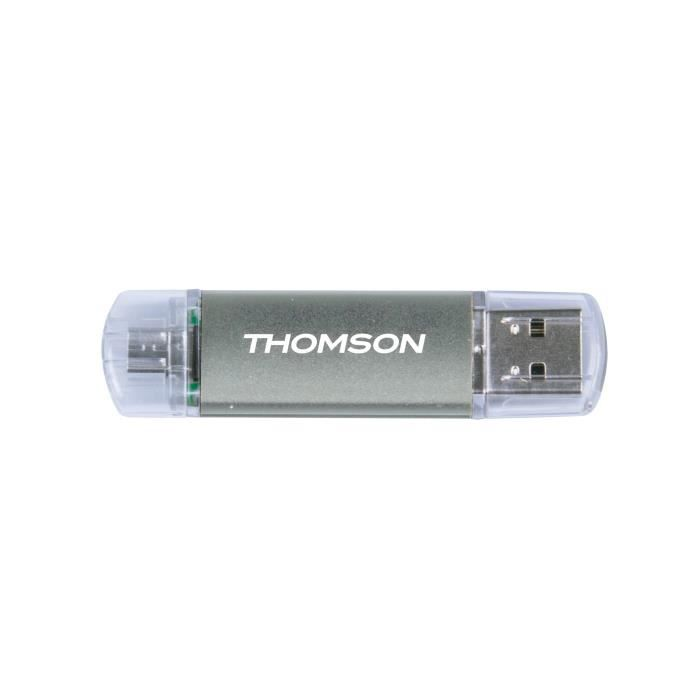 CLE USB DUAL THOMSON 8G RED