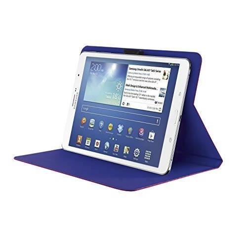 TRUST Aeroo Étui Folio Univ pour Tablette 7/8'' - Rose et bleu
