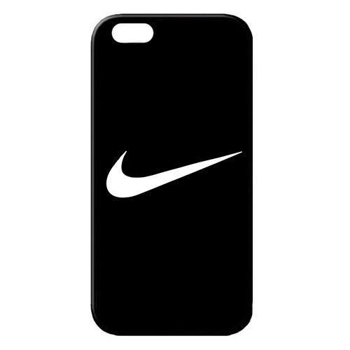 coque iphone 8 plus nike noir logo