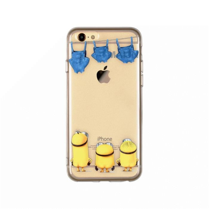 Coque pour apple iphone 5 5s se minions moi moche et for Housse iphone 5 c
