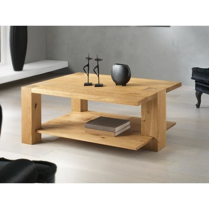 table basse 3 pieds ch ne massif 39 bibido15 39 achat vente table basse table basse 3 pieds. Black Bedroom Furniture Sets. Home Design Ideas