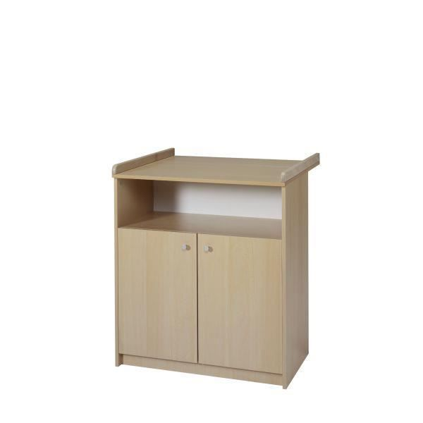 Commode langer b b classique naturel achat vente for Commode table a langer