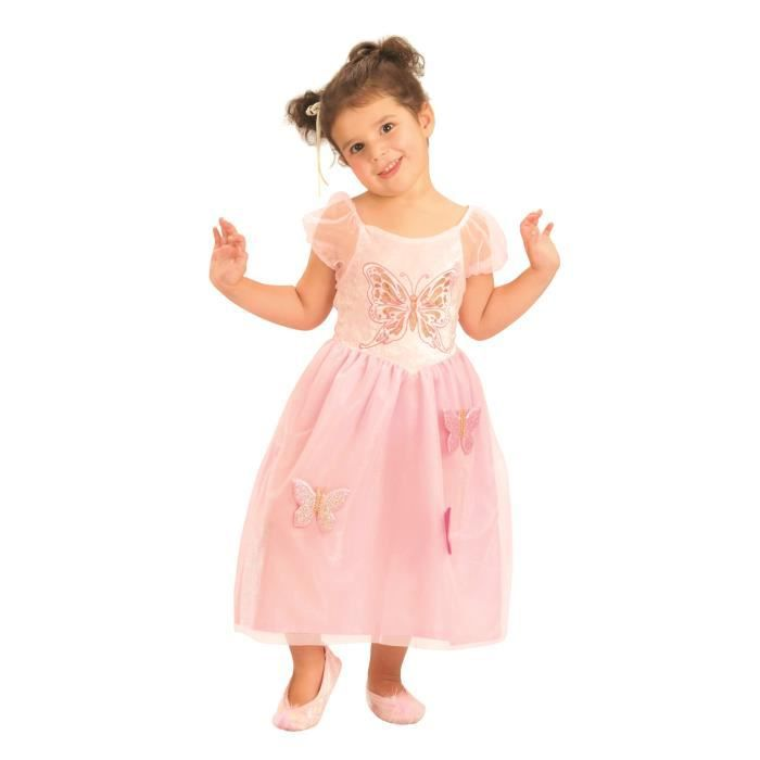 costume enfant princesse papillon taille 3 4 ans achat vente d guisement panoplie. Black Bedroom Furniture Sets. Home Design Ideas