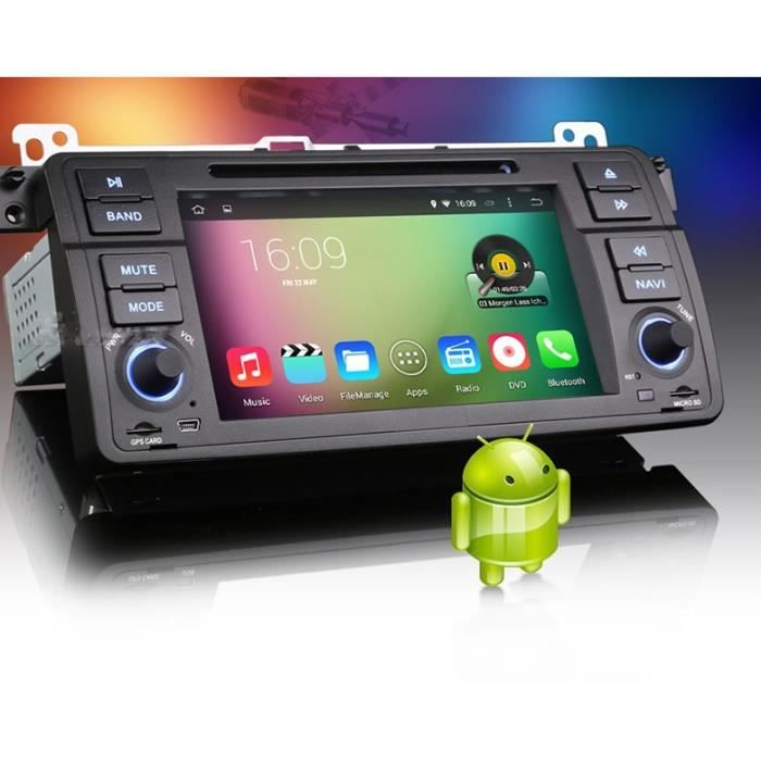 autoradio gps bmw e46 android achat vente pack gps. Black Bedroom Furniture Sets. Home Design Ideas