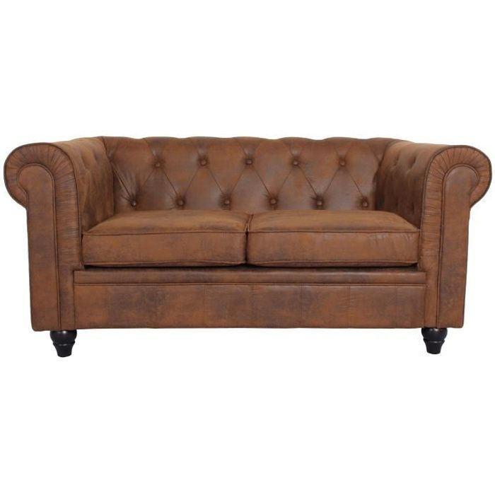Canap Chesterfield 2 Places Achat Vente Canap