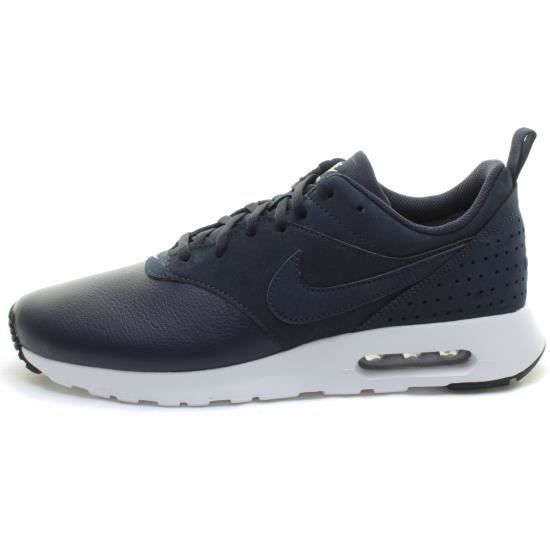 photos officielles 07bd8 cf6c6 Nike - Basket Air Max Tavas Cuir Bleu Bleu - Achat / Vente ...