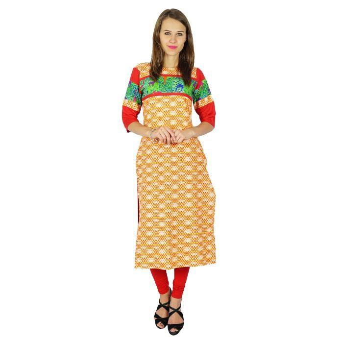 TUNIQUE Phagun Concepteur Indien Femmes Bollywood Kurta Ro