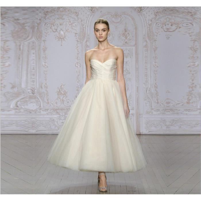 Robe de mariage en ivoire nouvelle robe de