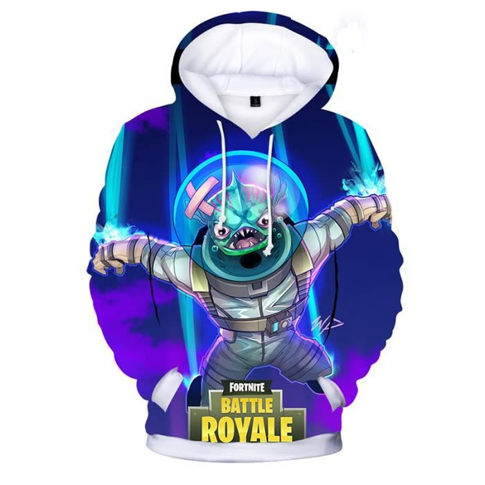 Fortnite sweatshirt Autour du jeu Pull à capuche Sweat à
