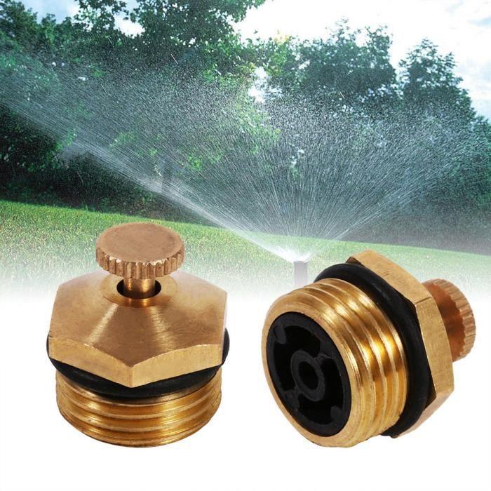 5pcs-Réglable buée Buse Jardinage Arrosage Laiton Spray Sprinkler