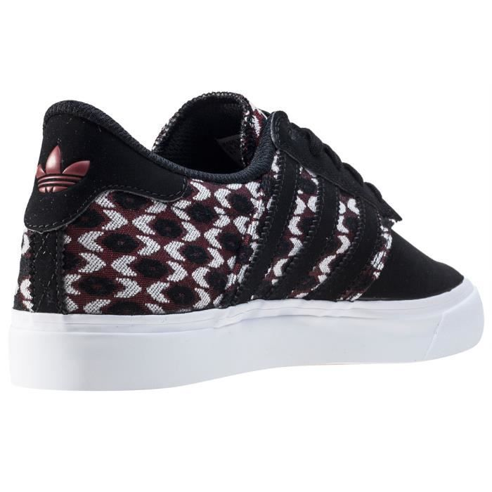 adidas Seeley Premiere Hommes Baskets Black White Red - 9 UK