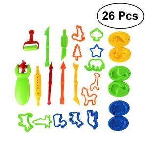 EXPÉRIENCE SCIENTIFIQUE 26pcs bricolage coloré jouer des moules à pâte out