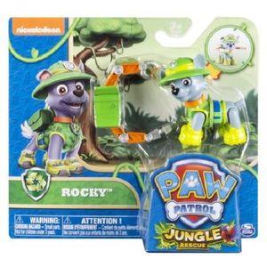 ROBOT - ANIMAL ANIMÉ Figurine ROCKY pat patrouille jungle sous blister