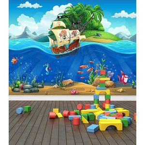 PAPIER PEINT pirate ship underwater world papier peint  papier