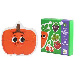 PUZZLE Puzzle bois animaux cognition puzzle fruits appren