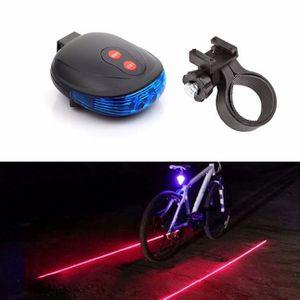 DÉCORATION DE VÉLO XYQ60428121 Accessoires de vélo@ 2 Laser +5 LED cl