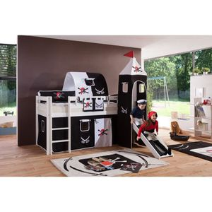 lit pirate achat vente lit pirate pas cher cdiscount. Black Bedroom Furniture Sets. Home Design Ideas