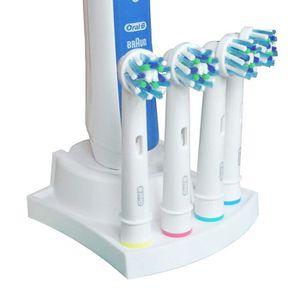 BROSSE A DENTS ÉLEC Support de brosse à dents pour 4 brosses à dents C