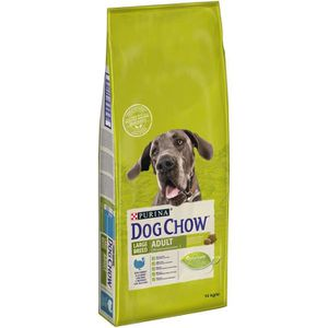 CROQUETTES DOG CHOW Croquettes - Avec de la dinde - Pour chie