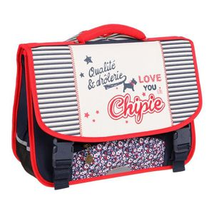 CARTABLE CHIPIE Cartable - 2 Compartiments - 38 cm - Bleu e