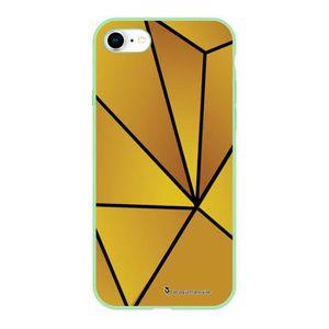 Coque iphone 7 jaune pale