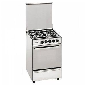 CUISINIÈRE - PIANO Cuisinière au gaz butane Meireles E531X 60 cm 59 L