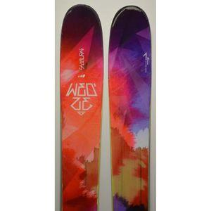 SKI Skis parabolique WED'ZE Samurai + Fixations