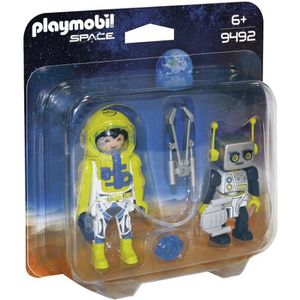 UNIVERS MINIATURE PLAYMOBIL 9492 - Space - PLAYMOBIL Duo Spationaute