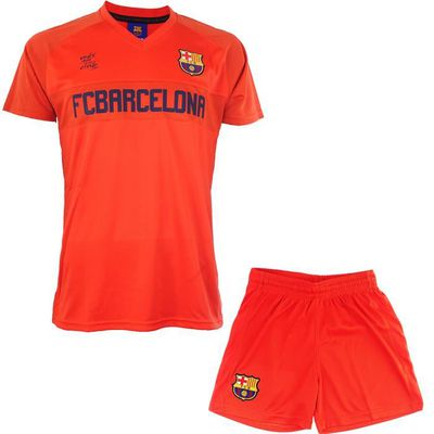 Collection Officielle Taille Enfant Short Barca Fc Barcelone Ensemble Maillot